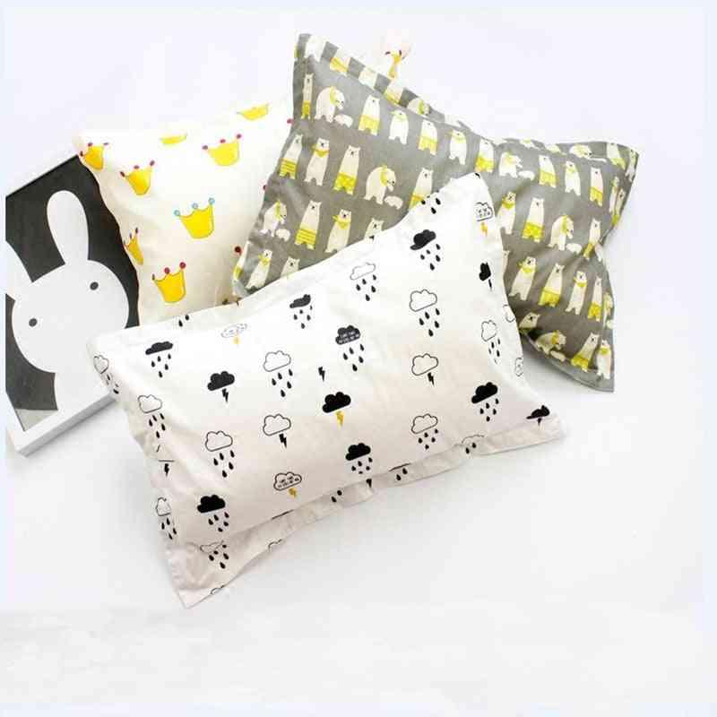 Printed Cotton Baby Pillowcase