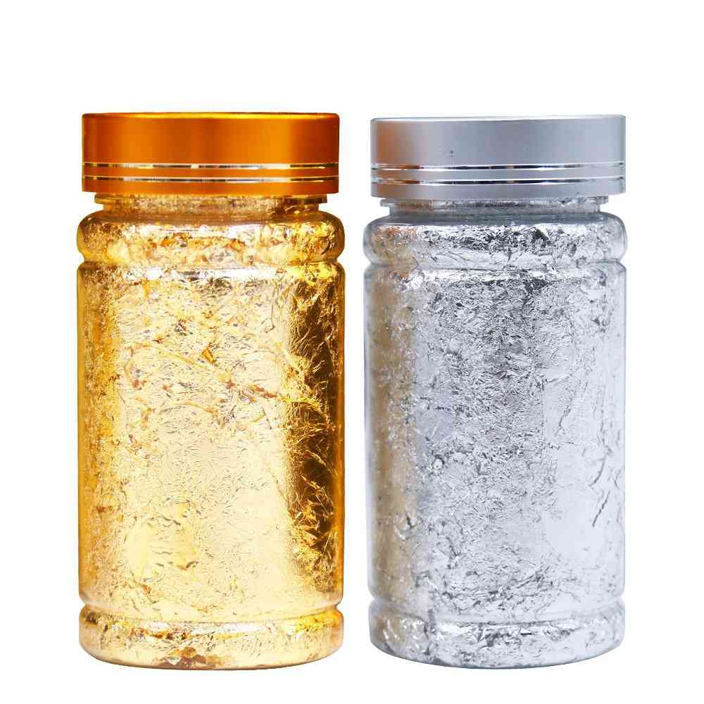 Imitation Gold And Silver Foil Sheetsfor Home Decoration/crafts/nail Art