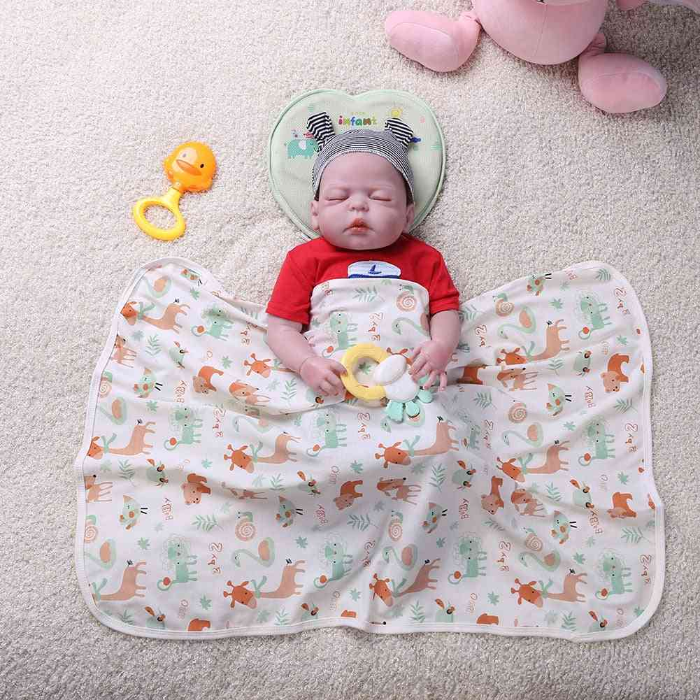 Bed Sheet - Star Floral Printed Bedding Set For Newborn