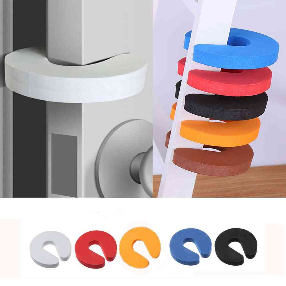 Eva C Shape Security Cabinet Locks, Door Clip, Baby Safety Stoppers