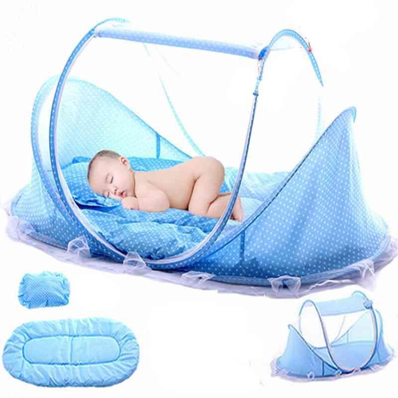 Baby Bedding Crib Netting Folding Baby Mosquito Nets