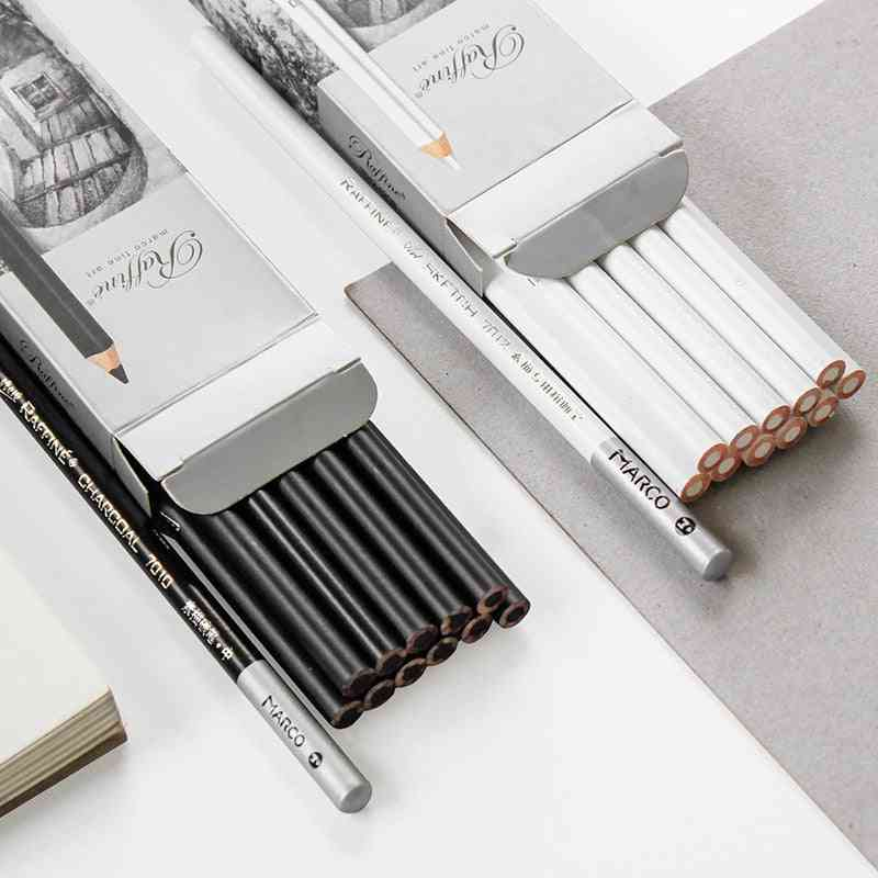 Profesional Black Charcoal Pen For Sketch Drawing
