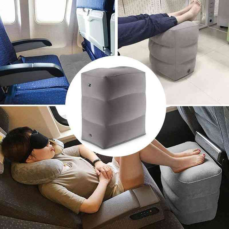 3 Layers Inflatable Eco-friendly Foot Rest Pillow