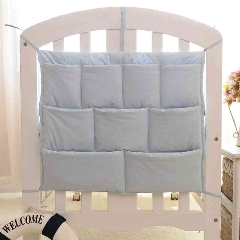 Newborn Baby Crib Toy, Diaper Organizer, Hanging Storage Bag