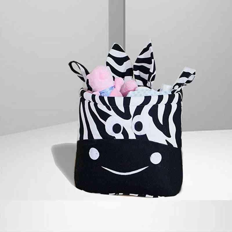 Zebra Print, Multi-function Crib Hanging Storage Bag