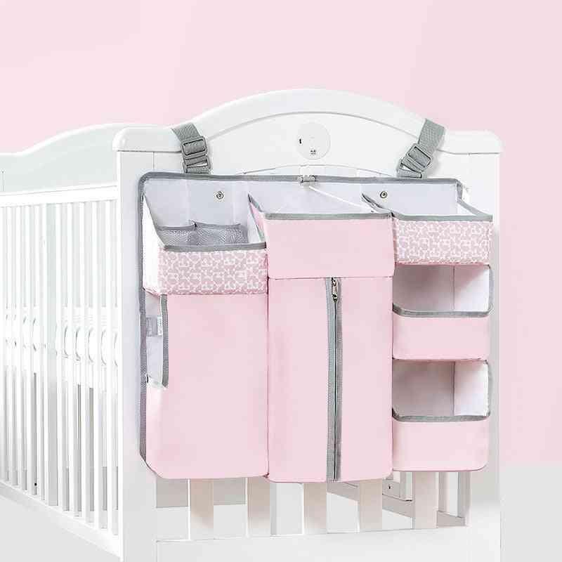 High Capacity, Baby Crib Hanging Diaper/cloth/bottle Storage Bag