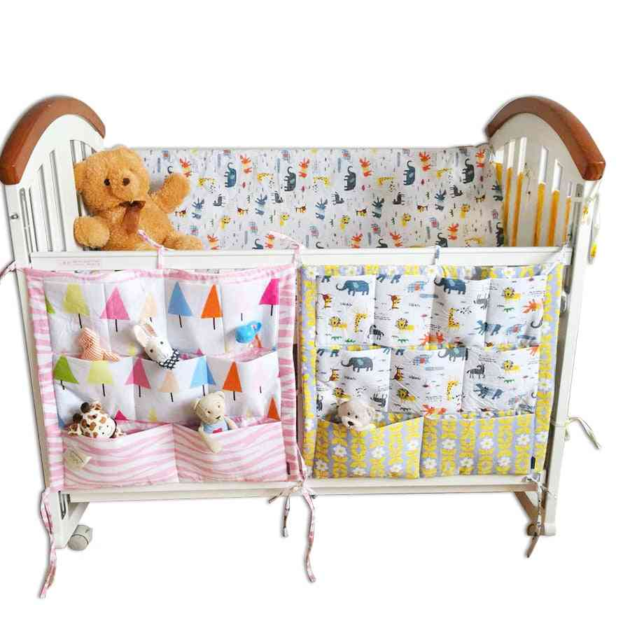 Baby Bed - Nursery Hanging Storage Bag - Kid Toy, Diaper, Organizer