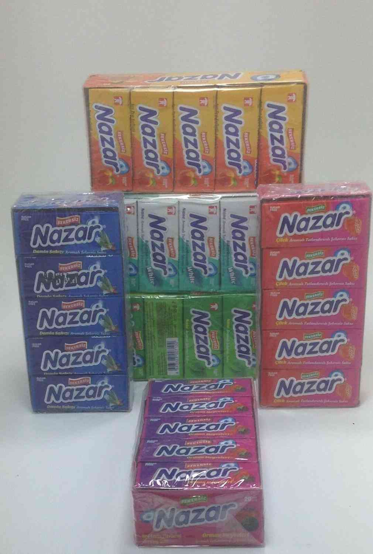 Sugarless Chewing Gum, Sugar-free 6 Tastes 100 Pieces