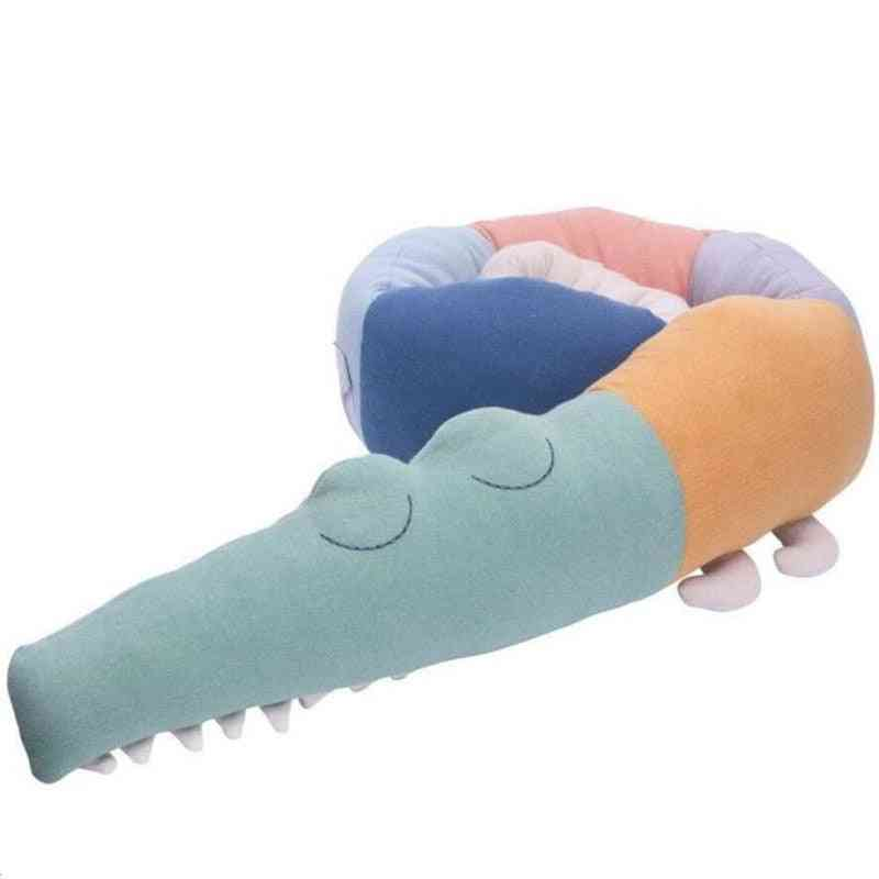 Long Pillow,  Stuffed Crocodile