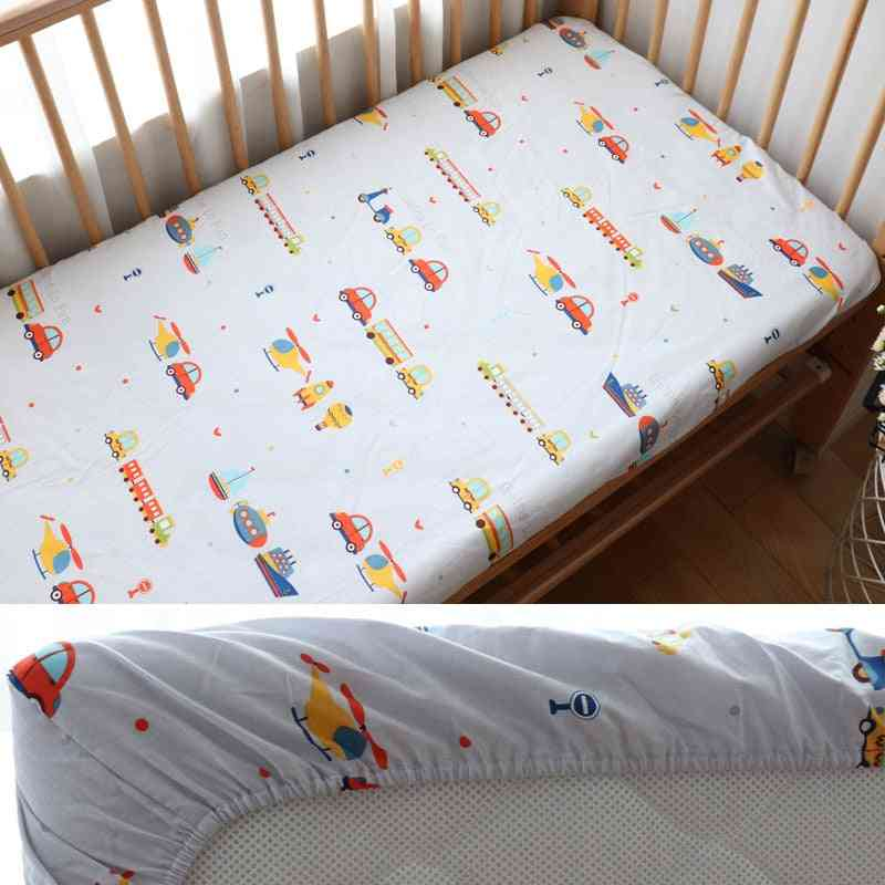 Pure Cotton Baby Crib Sheet