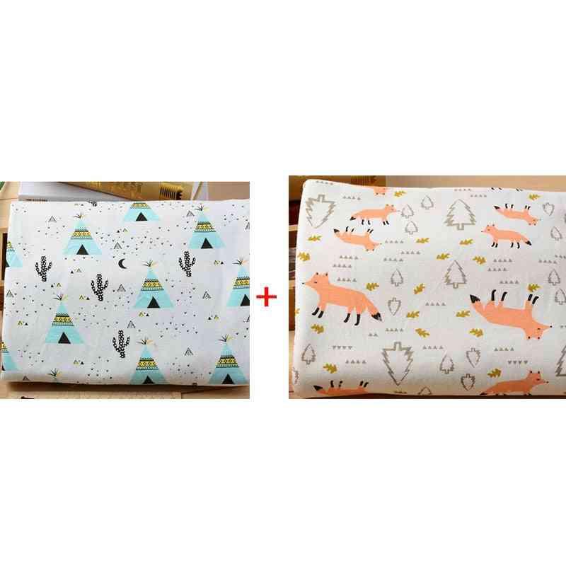 Newborn Baby Bed Sheets- Cotton Super Soft Crib Sheet Bedding Set