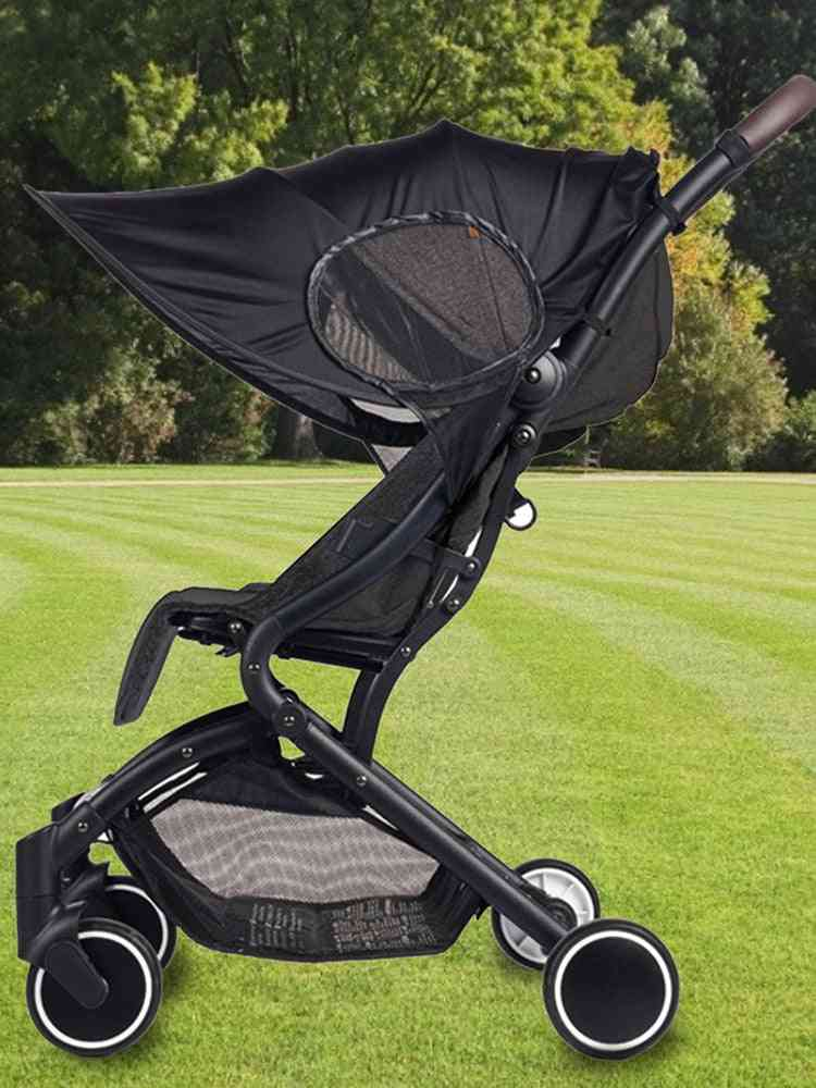 Universal Detachable  Uv-resistant Awning For Baby Stroller