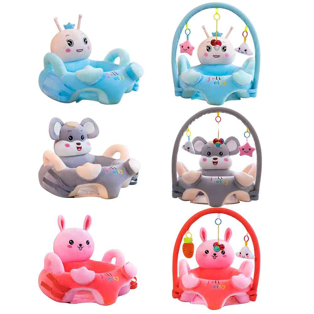 Baby Soft Comfortable Crystal Velvet, Baby Cartoon Chair