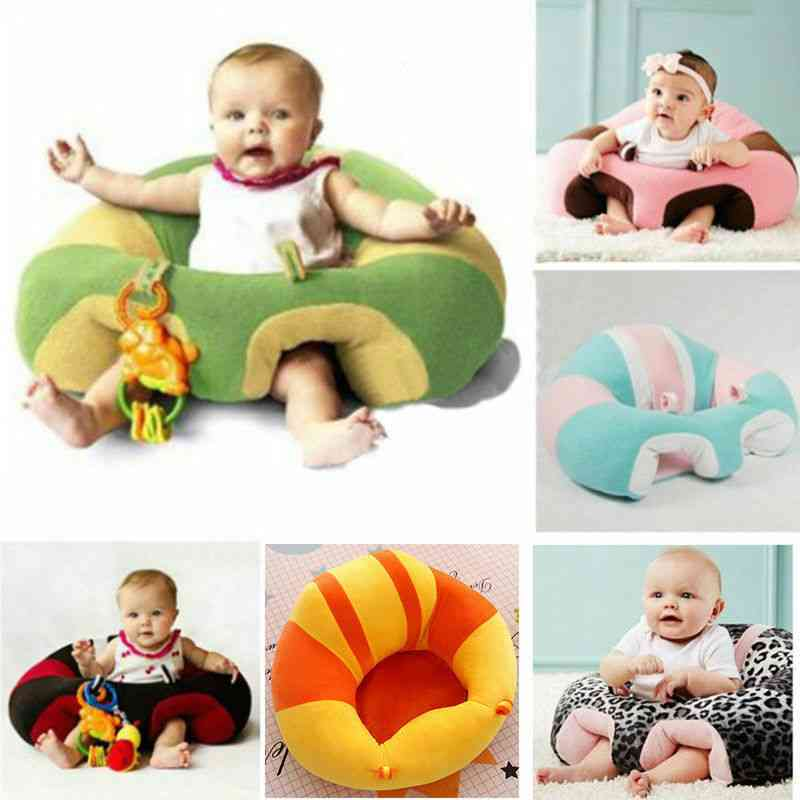 Comfortable Baby Support Seat, Soft Chair Cushion Sofa Pillow Toy Bean Bag
