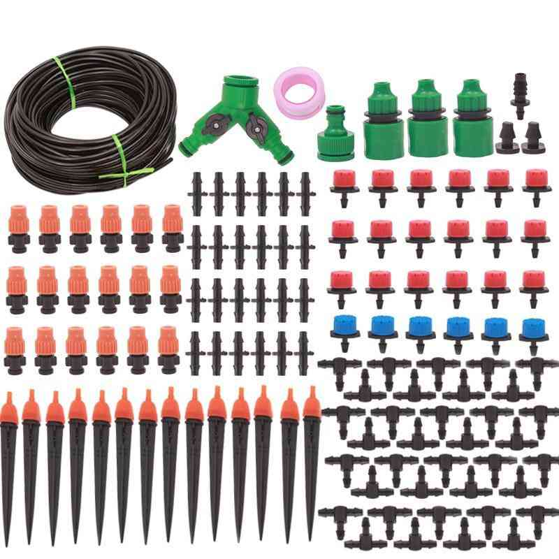 Automatic Micro Drip System For Garden Irrigation Spray, Self Watering Kits With Adjustable Dripper