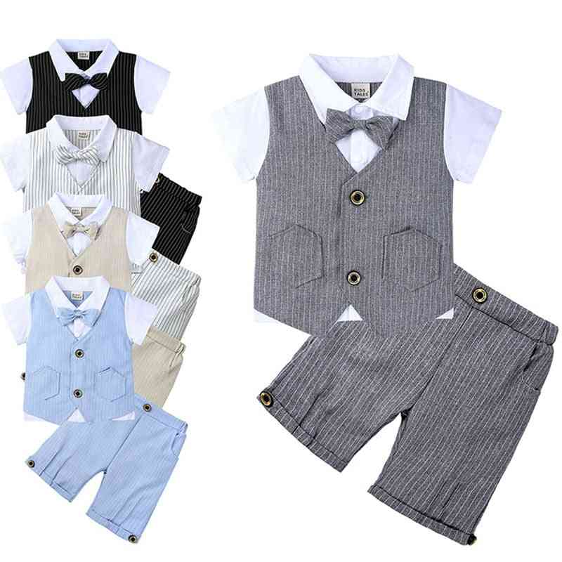 Tops & Shorts Sets, Outfit Summer Suit For Baby Boy