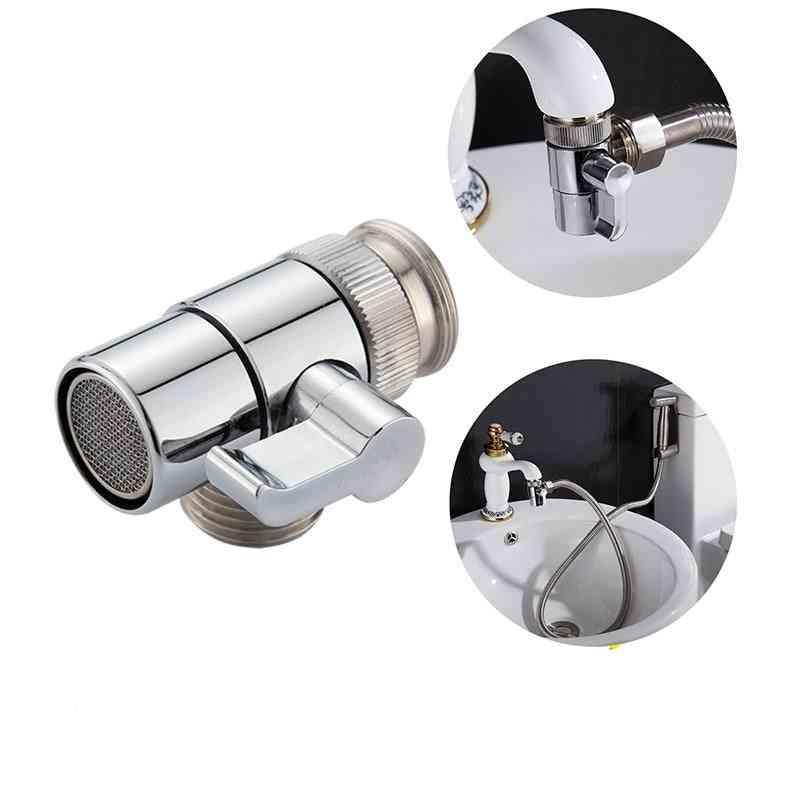 Sink Valve Diverter Faucet Splitter