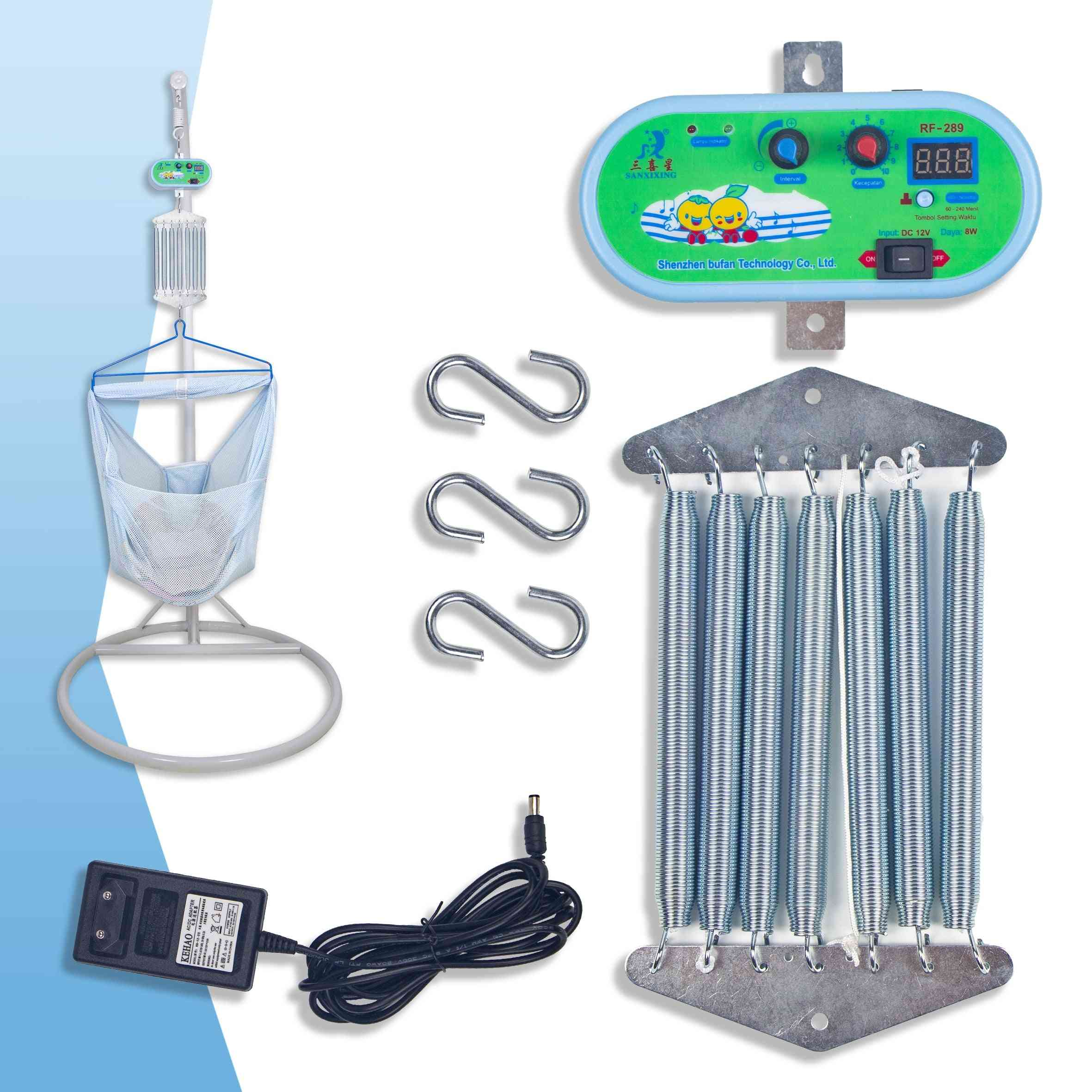 Electric Baby Cradle Controller Swinger Driver With Standard Adaptor External Power