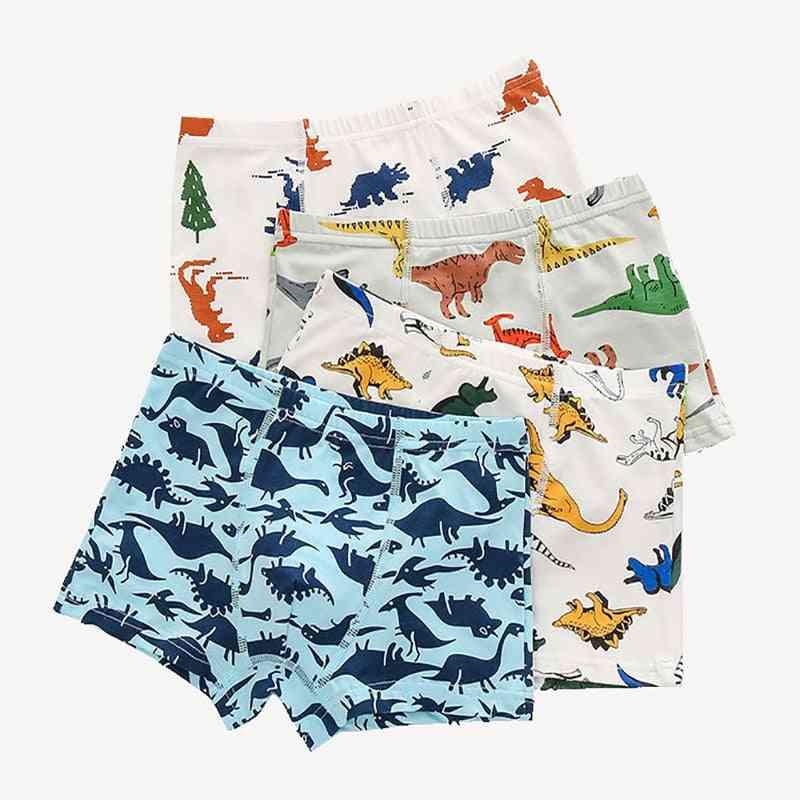 Baby Panties Cotton Dinosaur Print, Underwear Boxers Underpants For Kid,'s,