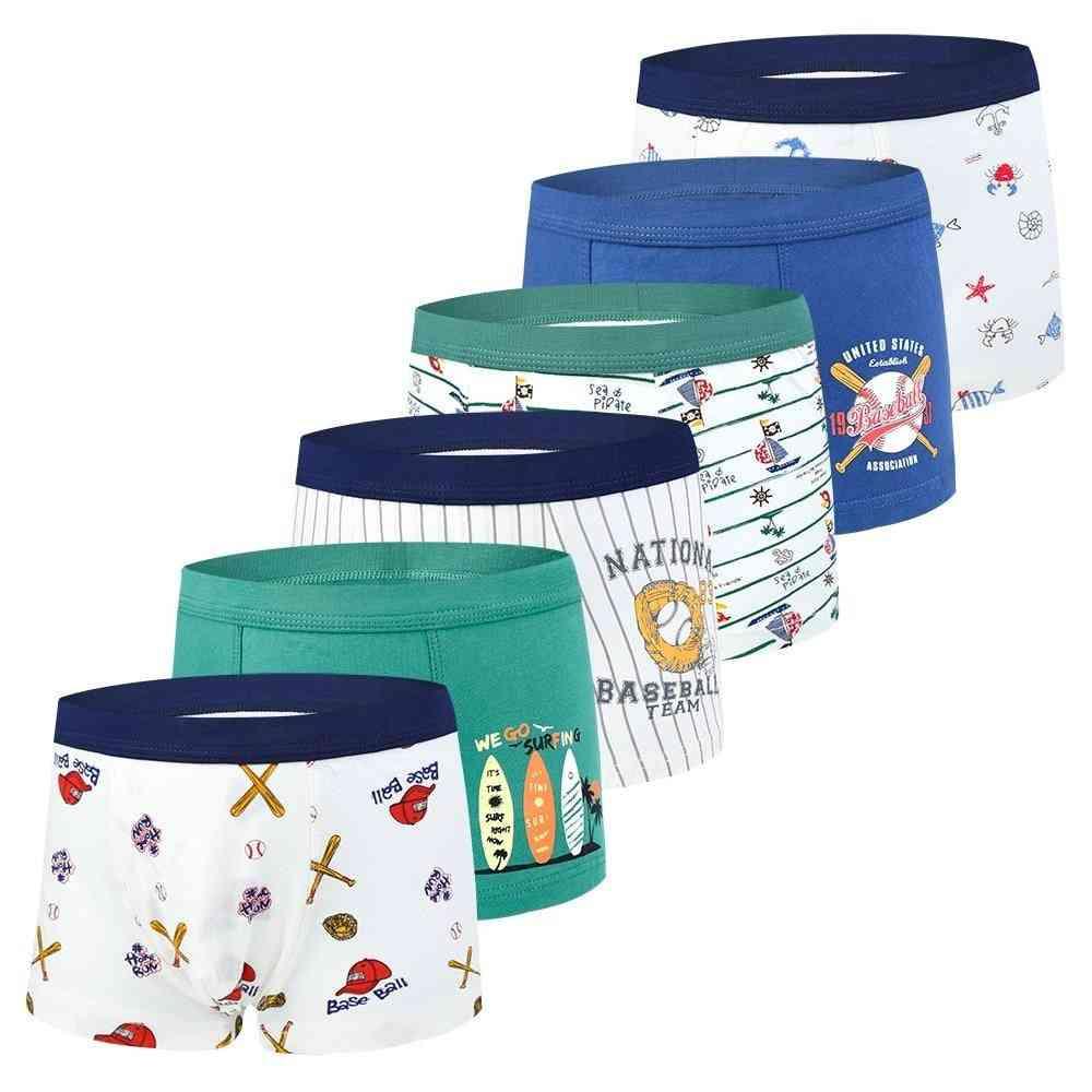 Kids Underwear Boxers, Cotton Soft Underpant For
