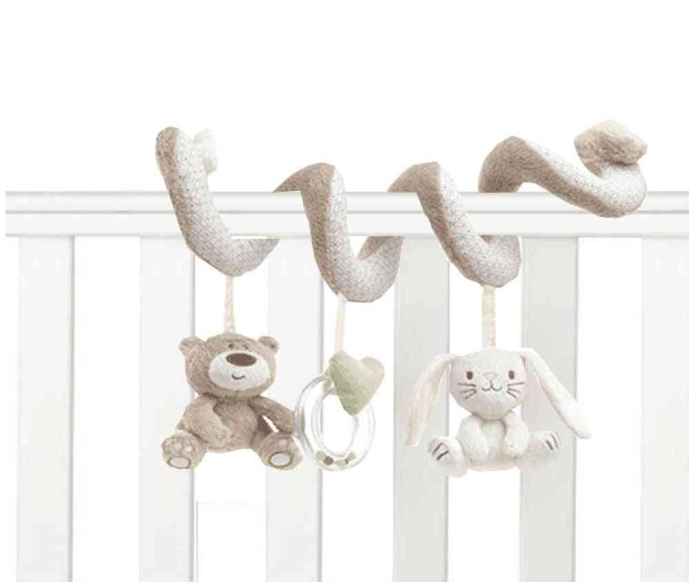 Baby Bed Musical Soft Plush-hanging Rattle Toy