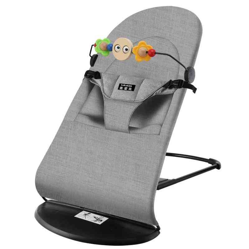 Balanced Rocking Chair, Comfort Recliner With Sleeping Bed For Kids