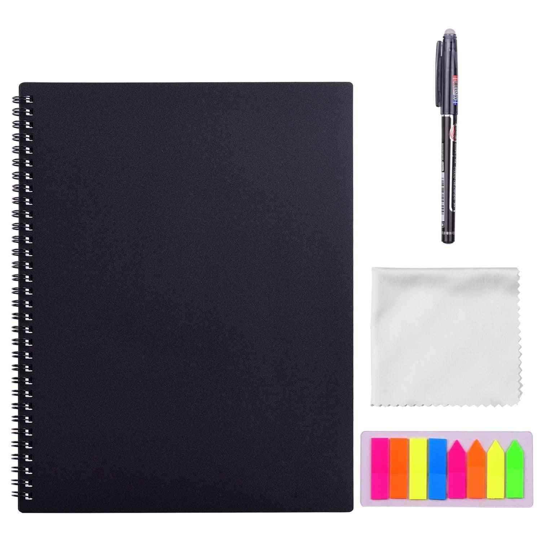 Erasable, Reusable Smart Notebook -a4 Size 20 Sheet With Pen