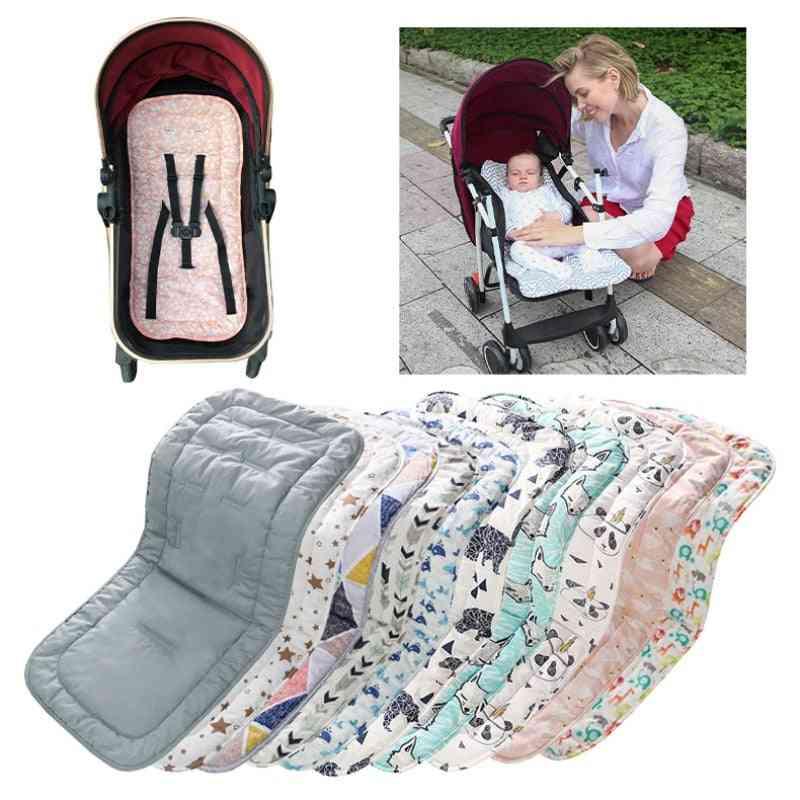 Baby Stroller Seat, Cotton Comfortable Soft Child Cart Mat