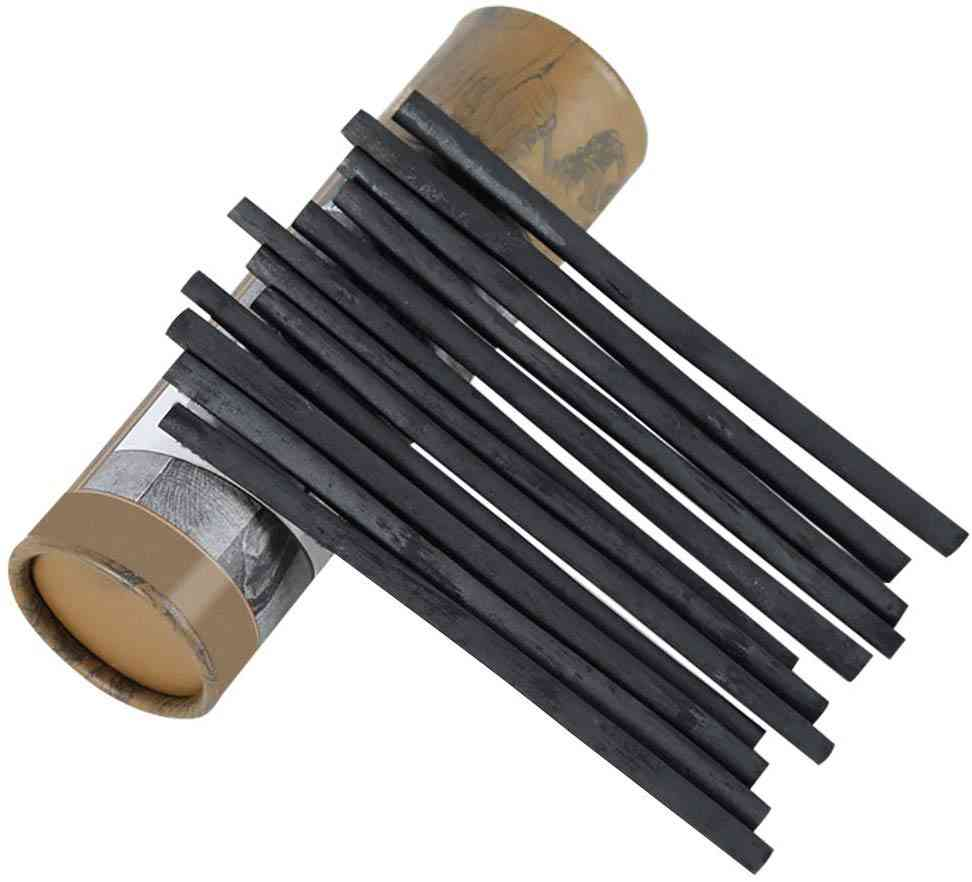 High Quality & Smooth Vine Willow Charcoal Sticks Sketch Pencils For Drawing Pack