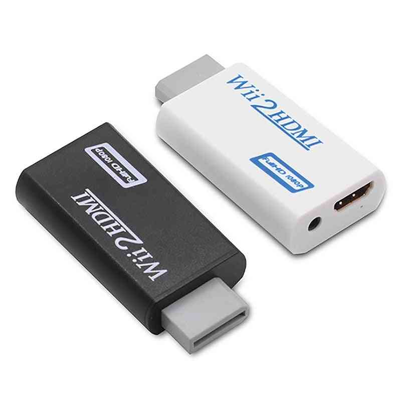 Wii To Hdmi Converter-full Hd 1080p-3.5mm