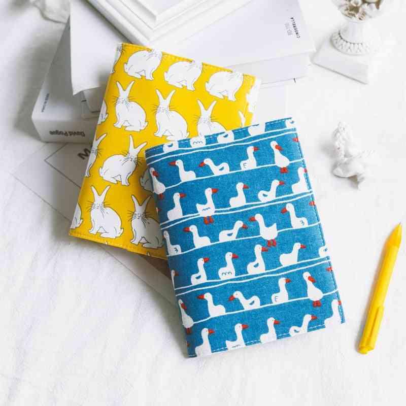 Unique Pattern Design-fabric Notebook Cover