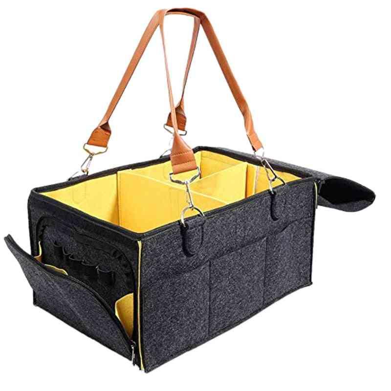 Portable Baby Diaper Organizer- Nursery Essentials Storage And Changing Bag