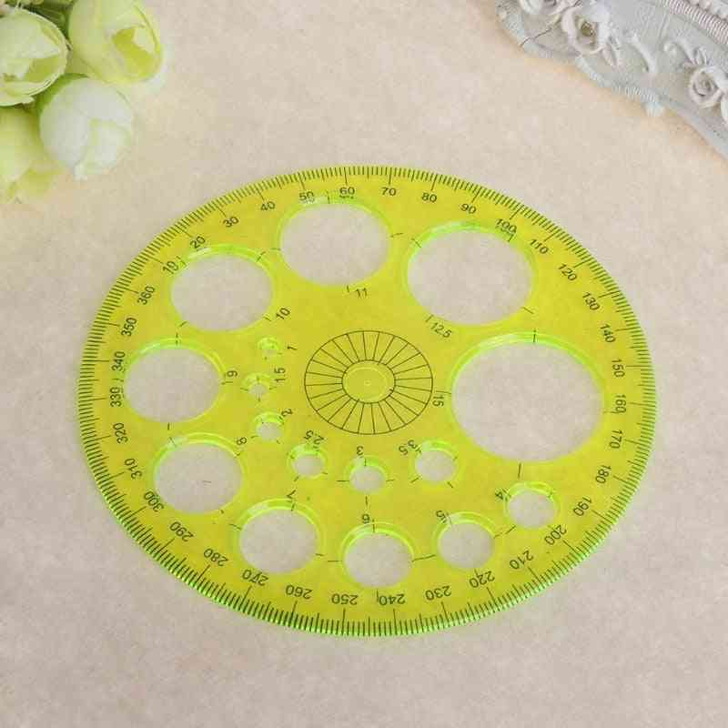 360 Degree All Round Ruler- Circle Template