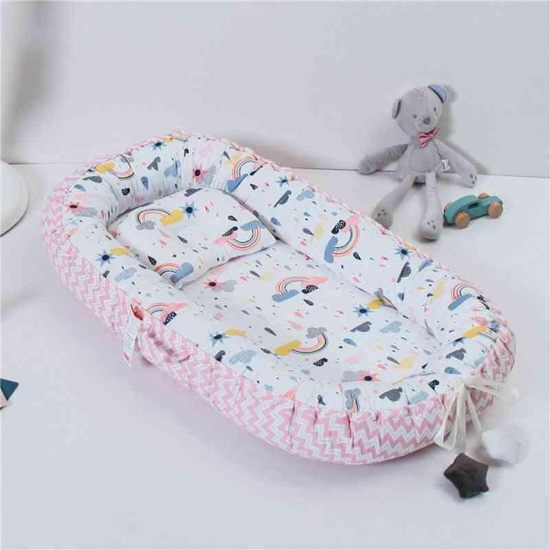 Portabel Baby Nest Beds, Newborn Nursing Bionic Bed Crib