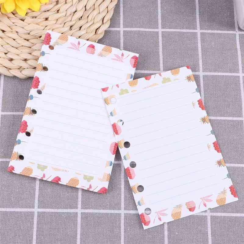 A7 Paper Refills With 6-ring Binders
