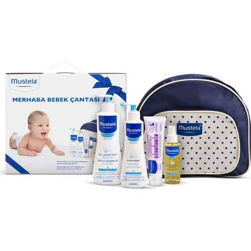 Mother Baby Care Lotion Set With Bag