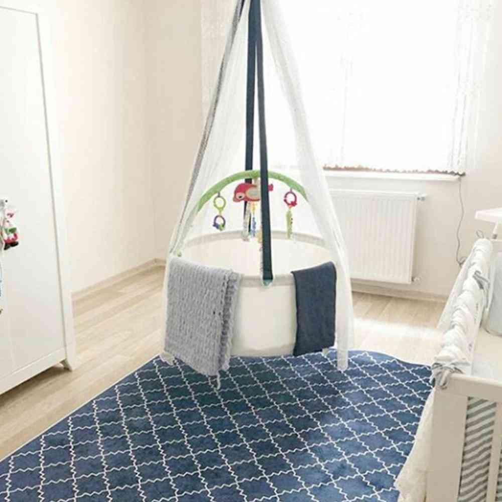 Mosquito Net Basket- Bassinet Swing Hammock For Infants