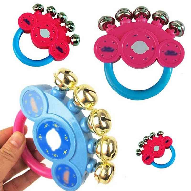Handbell Rattle For Baby-musical Instruement For Developent