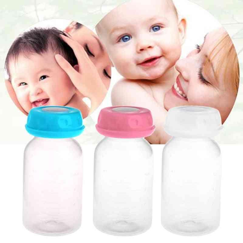 125ml Breast Milk Feeding And Storage Bottles