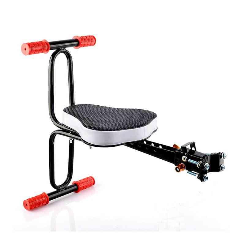 Baby Bike Front Safety Release Saddle, With Armrest Guard Bar