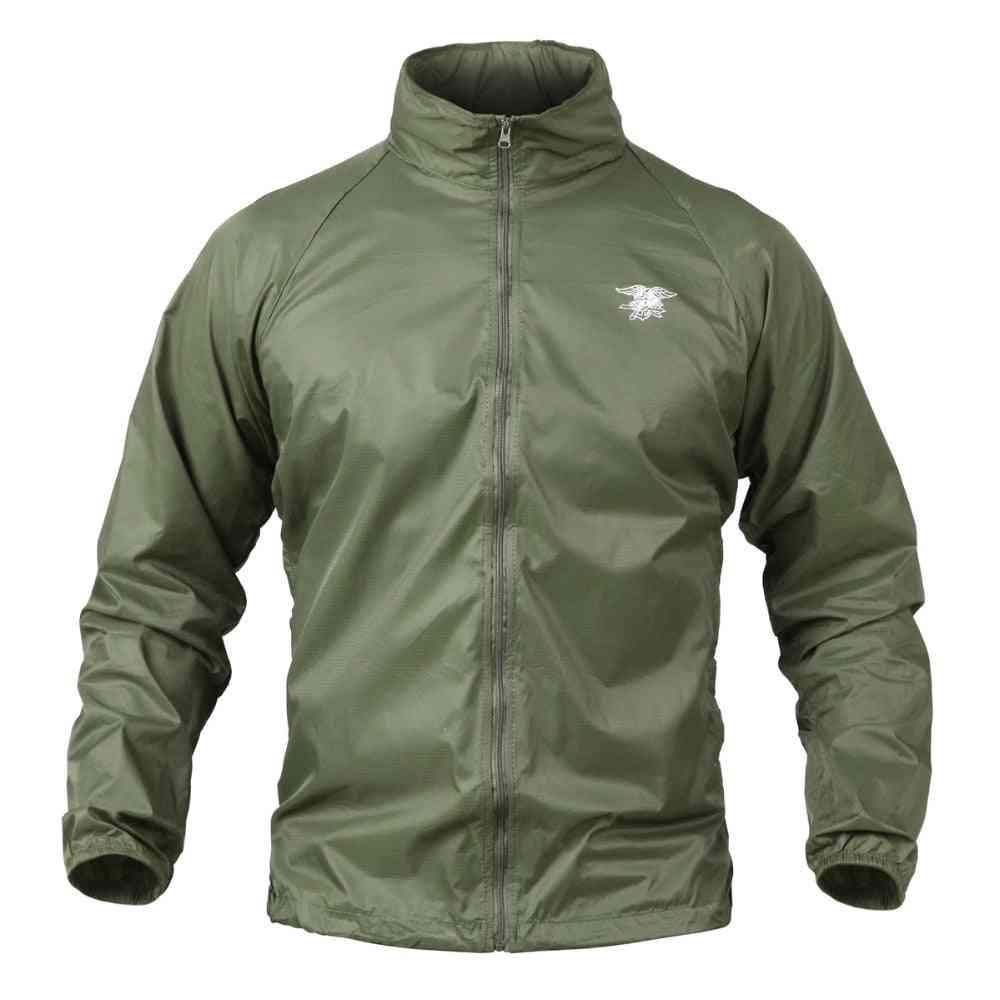Waterproof Thin Hood, Tactical Navy Seal Jacket