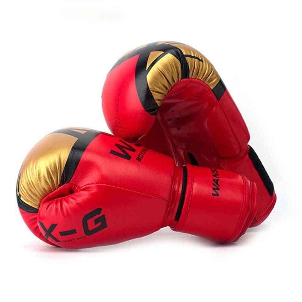 Women & Men Boxing Gloves Leather