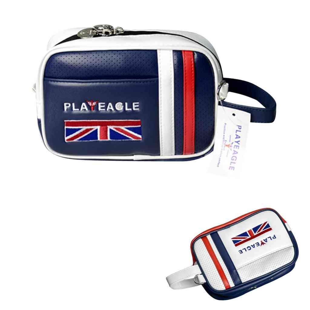 Golf Pouch Bag, Handbag, From Pu Matreial