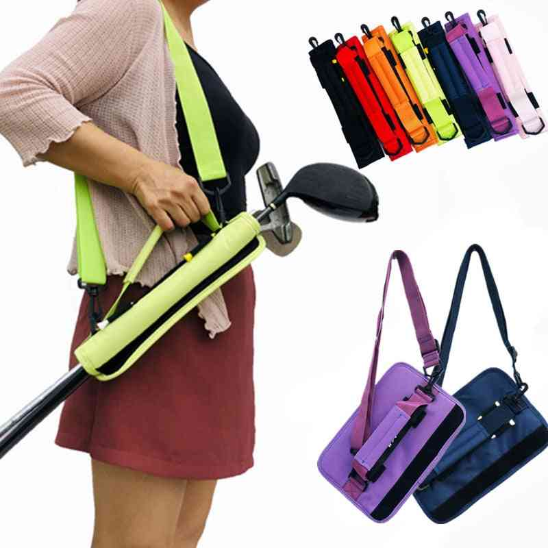 Golf Club Storage Bag. Lightweight Carry, Durable Stick Container