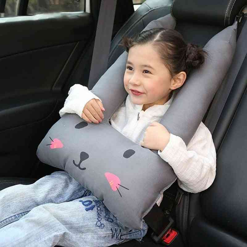 Baby Safety Strap Cartoon Car Seat Belts, Pillow Protect