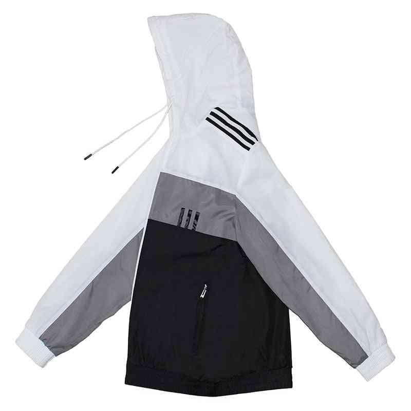 Sports Windbreaker, Male Outdoor Running Sport Wear Jacket