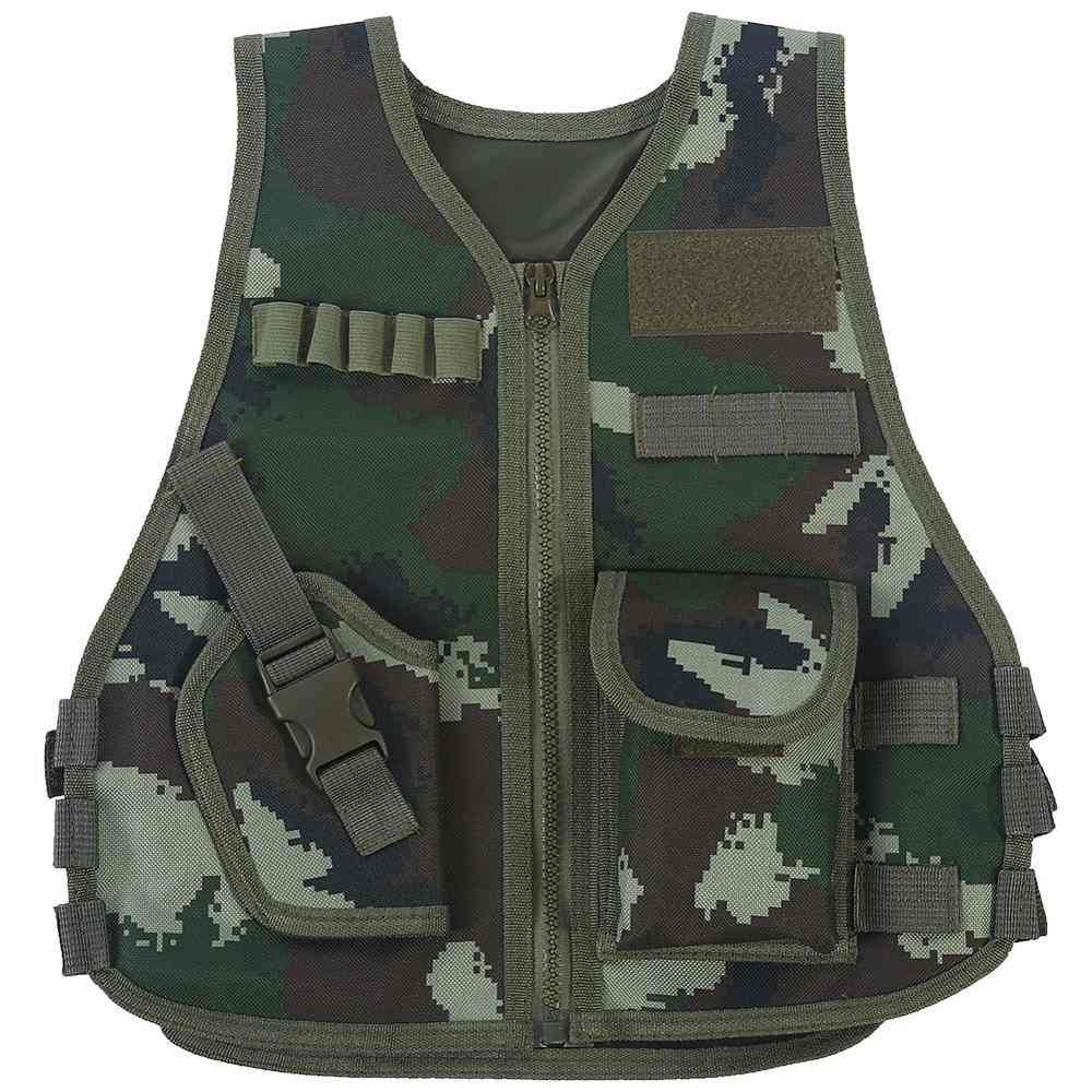 Combat Style Vest - Camouflage Hunting Clothes