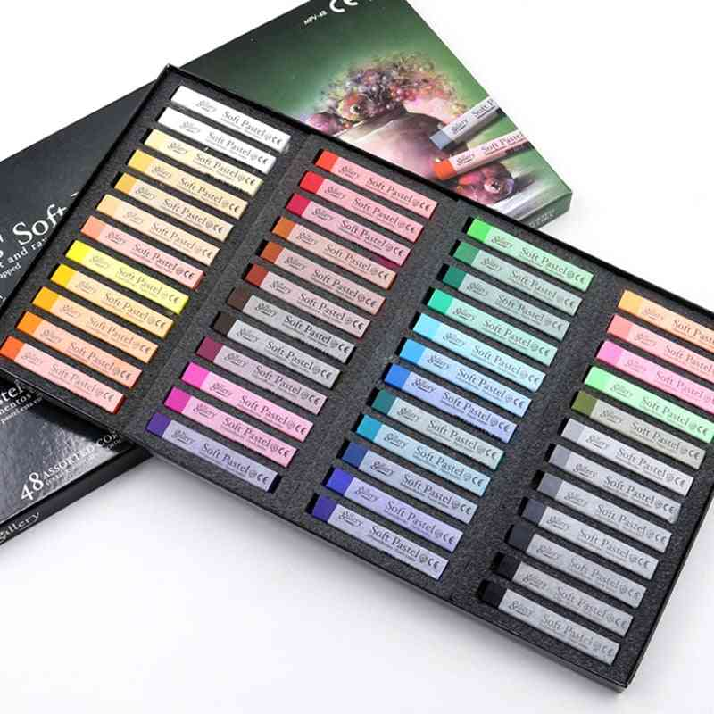 Soft Crayon Round Oil Pastel, For Artist Graffiti Painting Drawing Pen