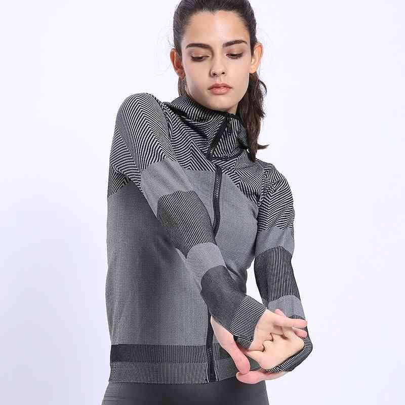 Women Profession Jogging Sports Hoodie, Slim-fit Sweatshirts