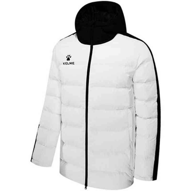 Men's Cotton, Hooded Warm Coat, Padded Overcoat Jackets